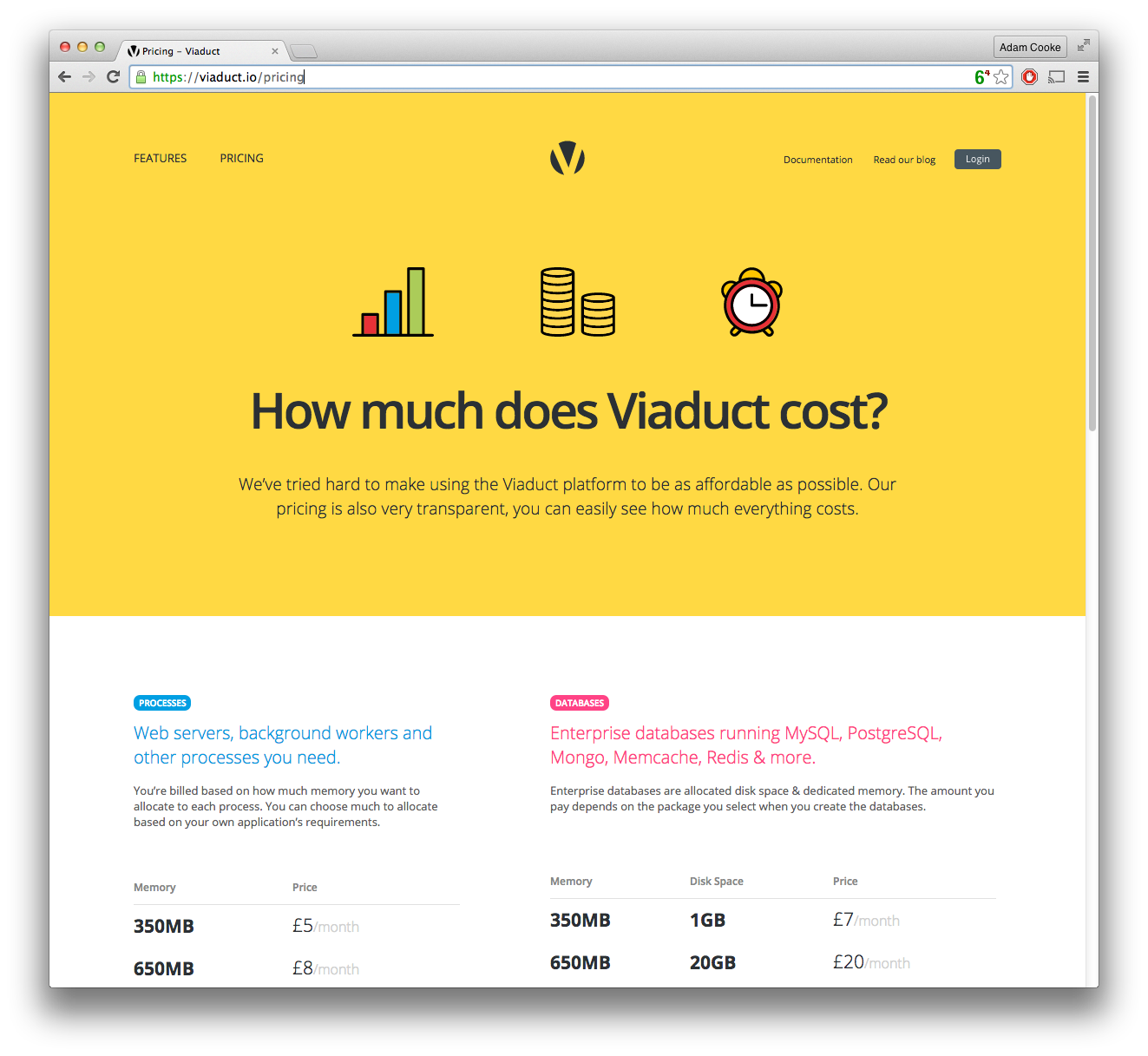 The Pricing Page