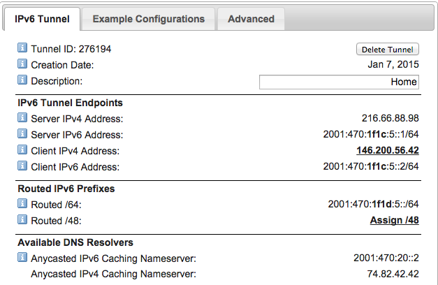 Creating an IPv6 network with an EdgeRouter - The aTech