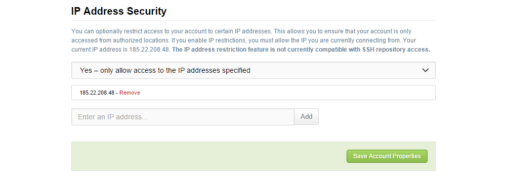 IP address security