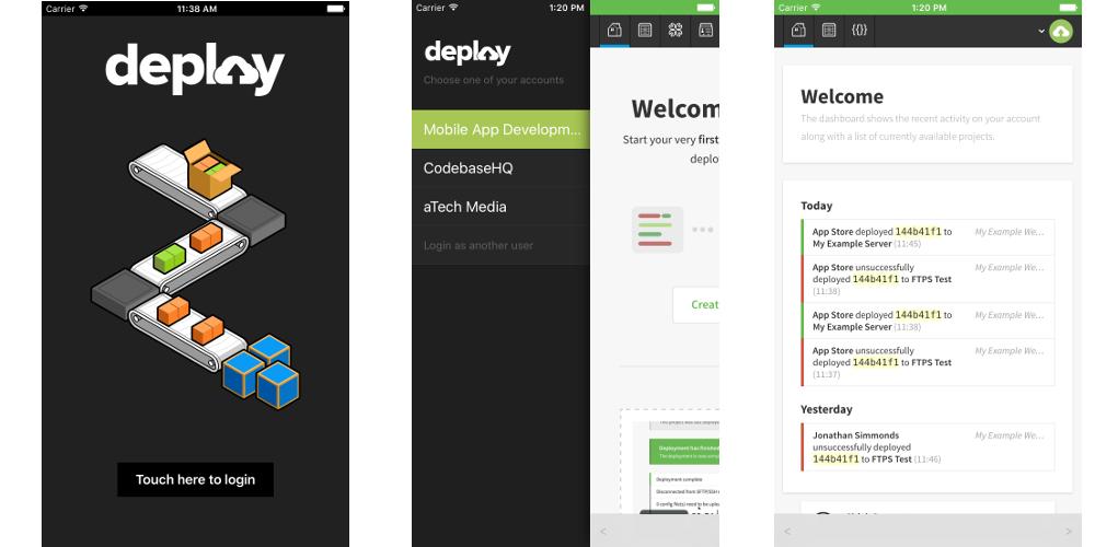 Deploy iOS App
