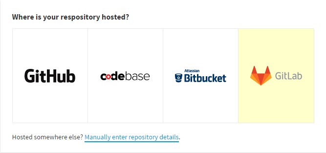 Adding a Gitlab repository